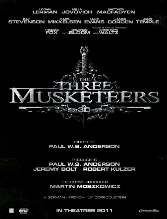 Three Musketeers Poster