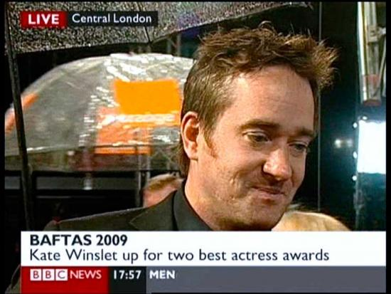 First Image of Matthew on the Red Carpet (Bafta Film 2009)