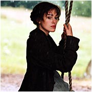 18th-century romance: Keira Knightley stars as Lizzie, who disdains then desires Matthew McFadyen's Mr. Darcy.